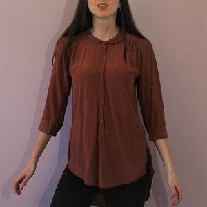 Aritzia Silk Blouse